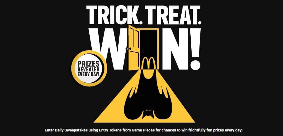 Mcdonalds instant win prizes 2018 movies