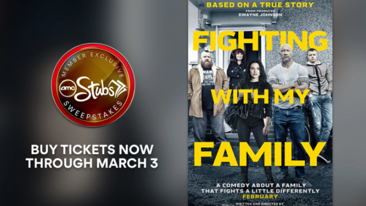 graphic regarding Amc Printable Tickets identified as AMC Theatres Battling With My Household Sweepstakes: Gain 4