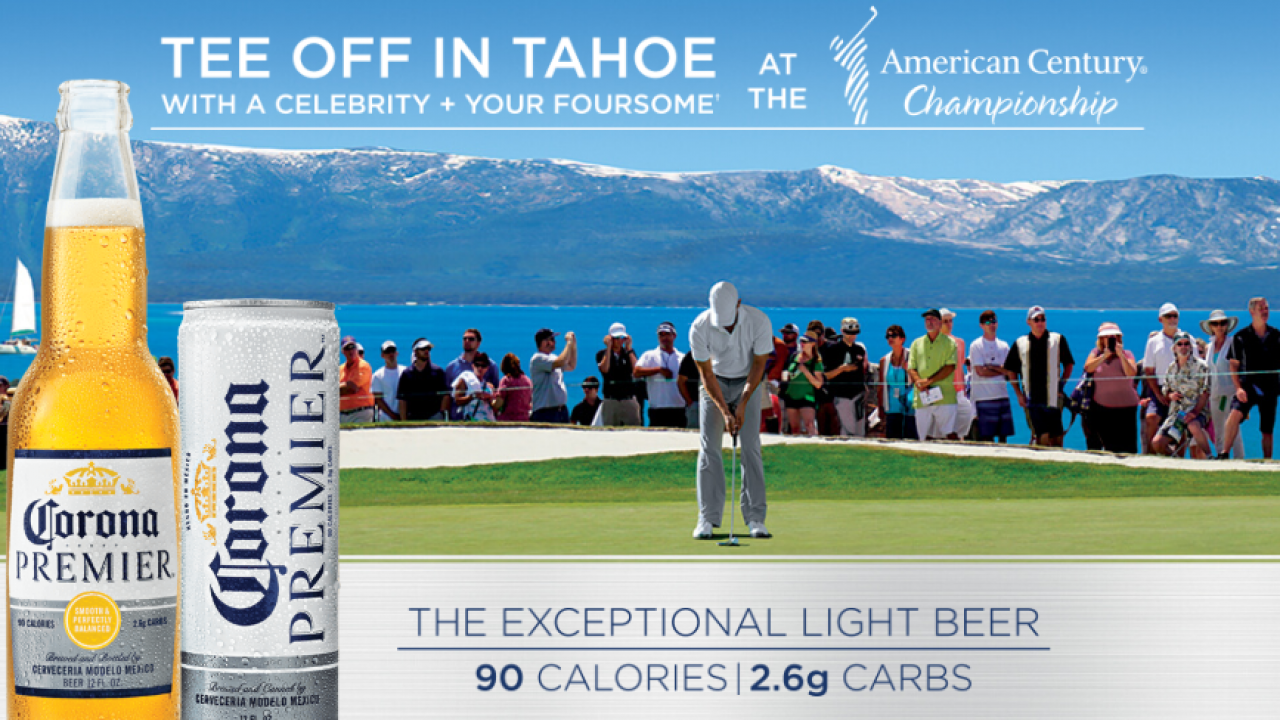 Corona Premier Golf Sweepstakes: Win daily instant prizes or a trip