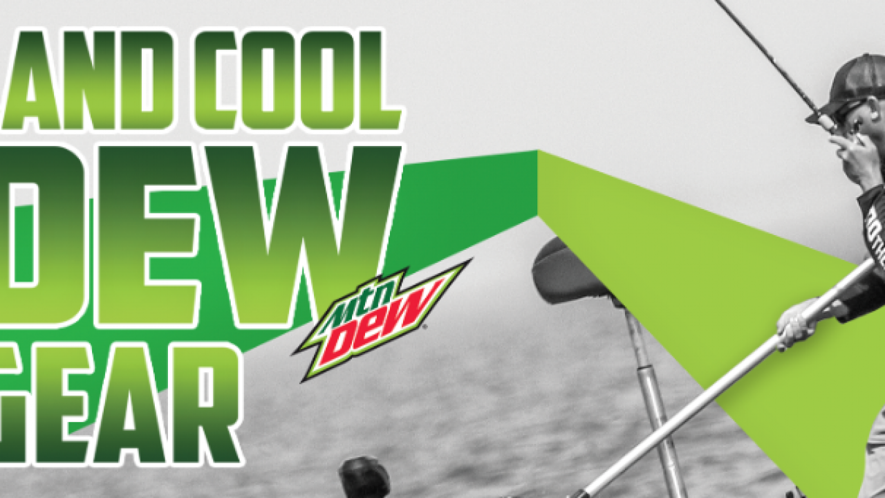 Mtn Dew Fishing Sweepstakes 2019: Win fishing gear packages