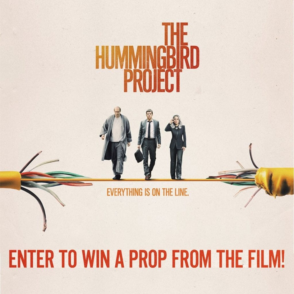 Regal Cinemas The Hummingbird Project Sweepstakes: Win a