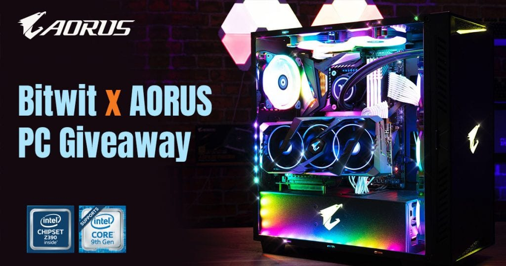 xtreme sweepstakes bitwit and aorus giveaway win a pc including an rtx 2080 3058