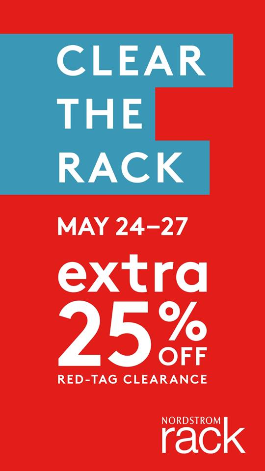 7dff2ad4e Nordstrom Rack Clear the Rack Sale: Extra 25% off red-tag Clearance