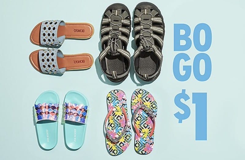 Kmart: Buy One Get One for $1 select shoes