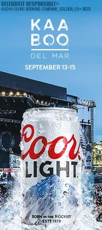 Coors Light Kaboo del Mar 2019 Sweepstakes: Win a Bask
