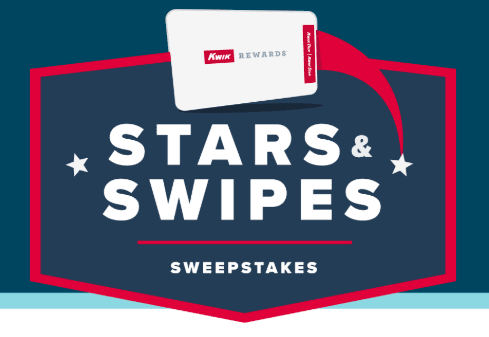 Kwik Rewards Stars & Swipes Sweepstakes: Win Smart TV, gift