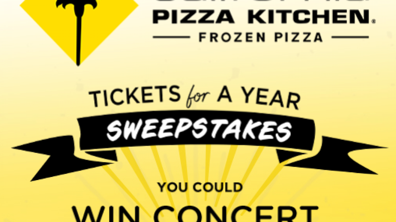 California Pizza Kitchen Tickets for a Year Sweepstakes: Win