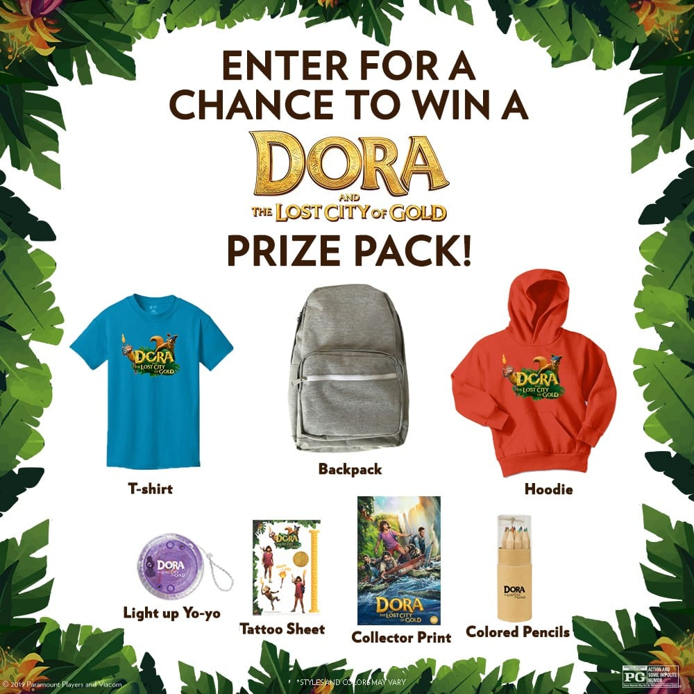 Showcase Dora and the Lost City of Gold Giveaway: Win a