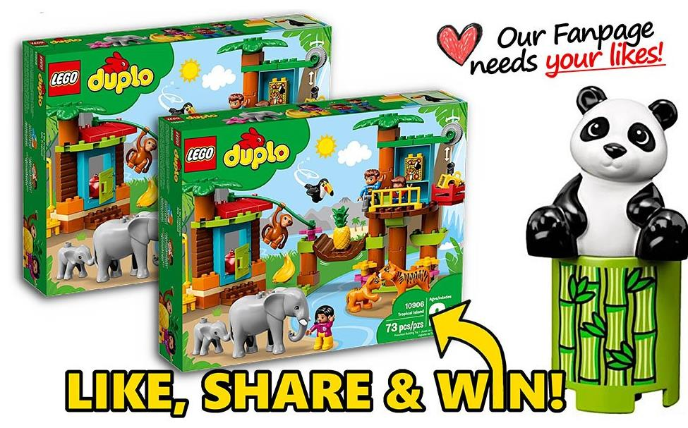 Top Coloring Pages Contest: Win LEGO DUPLO sets