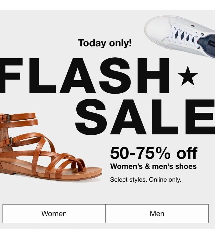 Macy's Flash Sale September 14: Up to